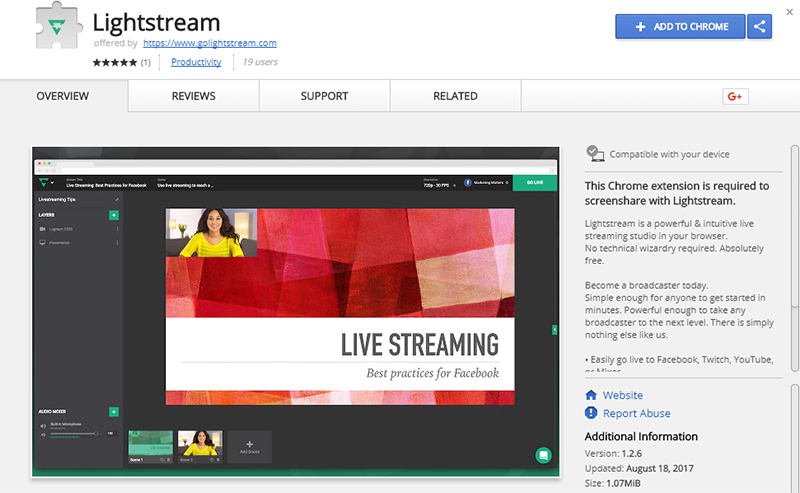 Lightstream_Labs_Chrome_Store