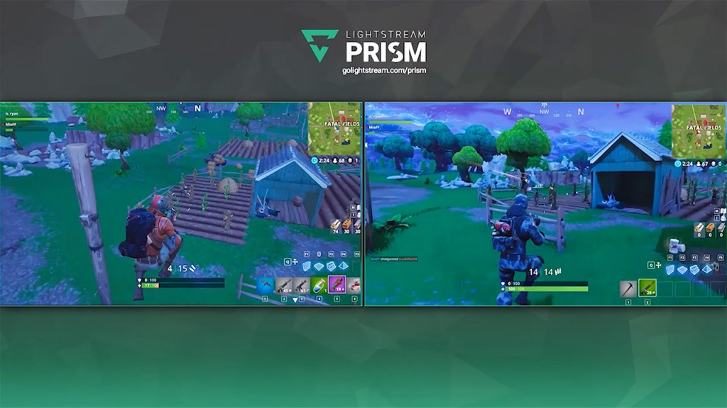Stream multiple viewpoints of your Fortnite matches