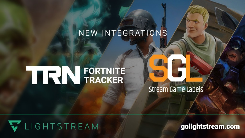 Lightstream adds Fortnite Game Tracker and Stream Game Labels integrations