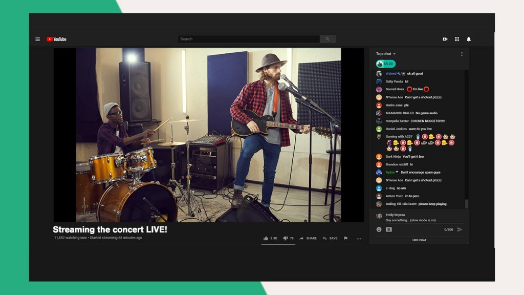 Stream concerts with Lightstream Studio