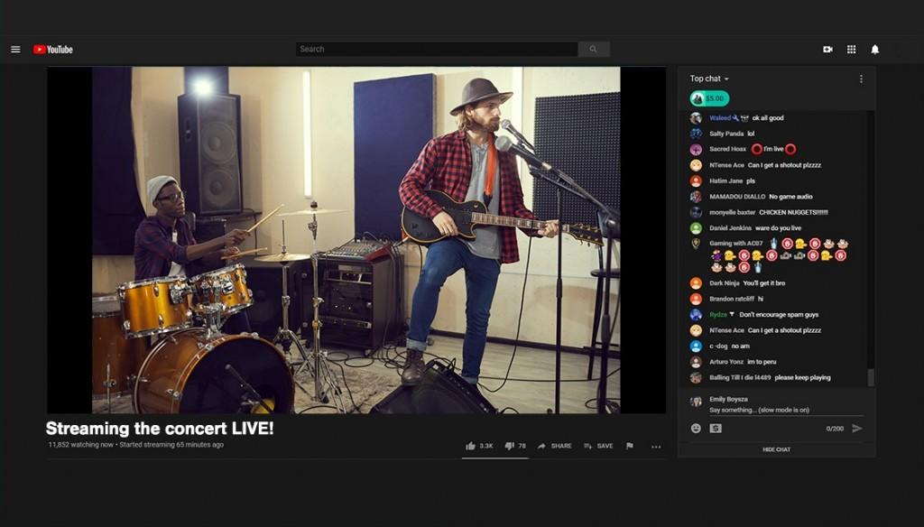 Stream concerts with Lightstream Studio