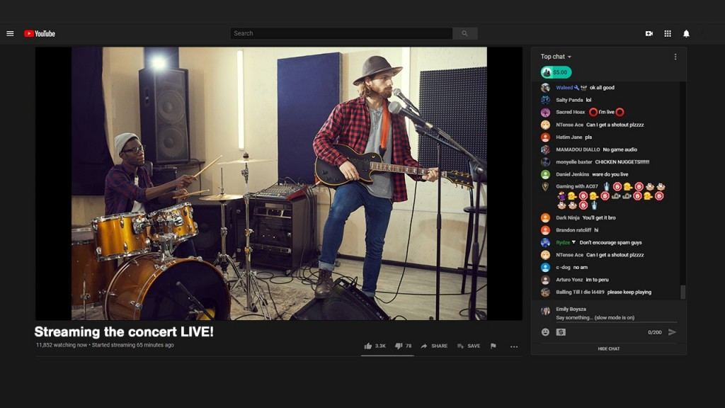 Add guests to your livestram