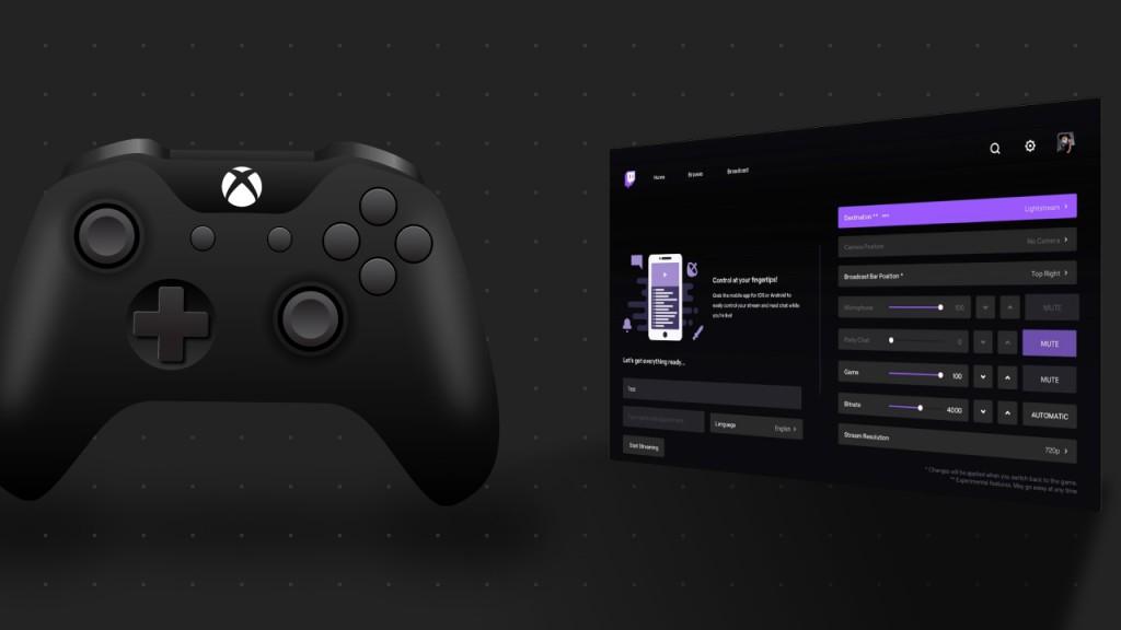 Lightstream Twitch Xbox App Integration