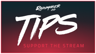Red Twitch Tip Panel - Rainmaker.gg