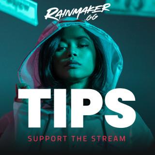 Money Twitch Tip Panel - Rainmaker.gg